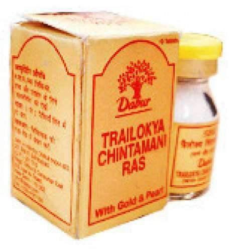 Buy Dabur Chintamani Ras ( Trailokya Chintamani Ras ) online United States of America [ USA ]