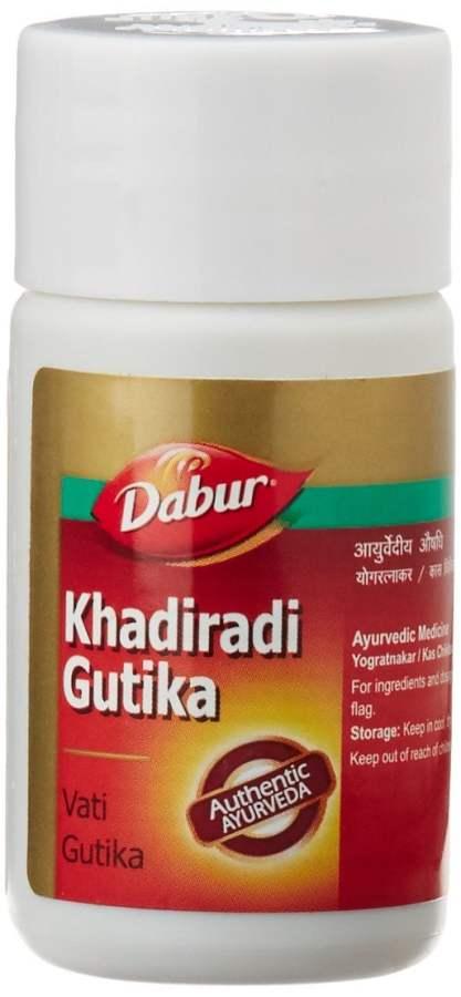 Buy Dabur Khadiradi Gutika Vati Online MY