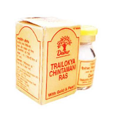 Buy Dabur Trailokya Chintamani Ras online United States of America [ USA ]