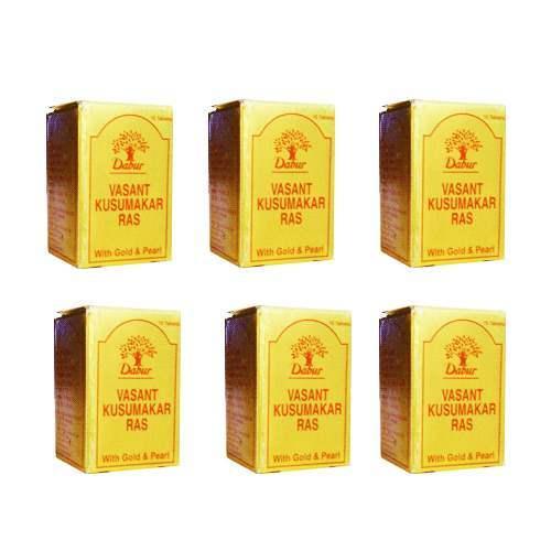 Buy Dabur Vasant Kusumakar Ras (with Gold and Pearl) online United States of America [ USA ]