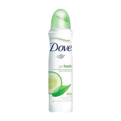 Buy Dove Go Fresh Cucumber & Green Tea  Deodorant  Online MY