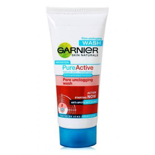 Buy Garnier Pure Active Pore Unclogging Wash Online MY