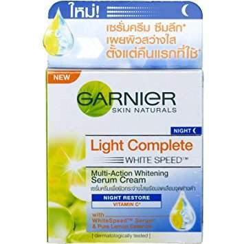 Buy Garnier Skin Naturals Light Overnight Peeling Fairness Cream Online USA