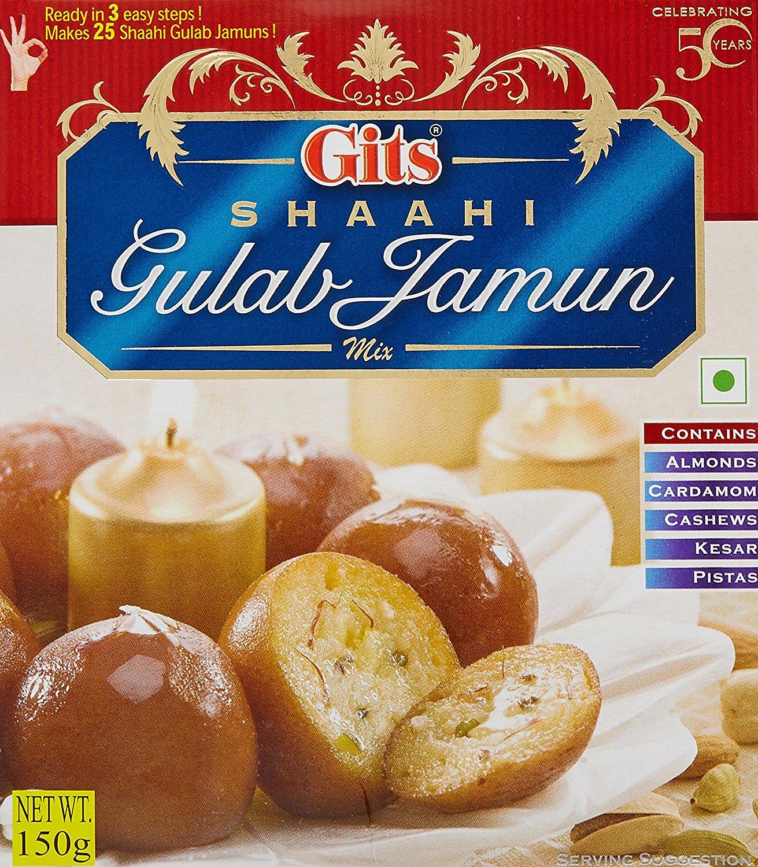 Buy Gits Instant Shaahi Gulab Jamun Dessert Mix Online MY