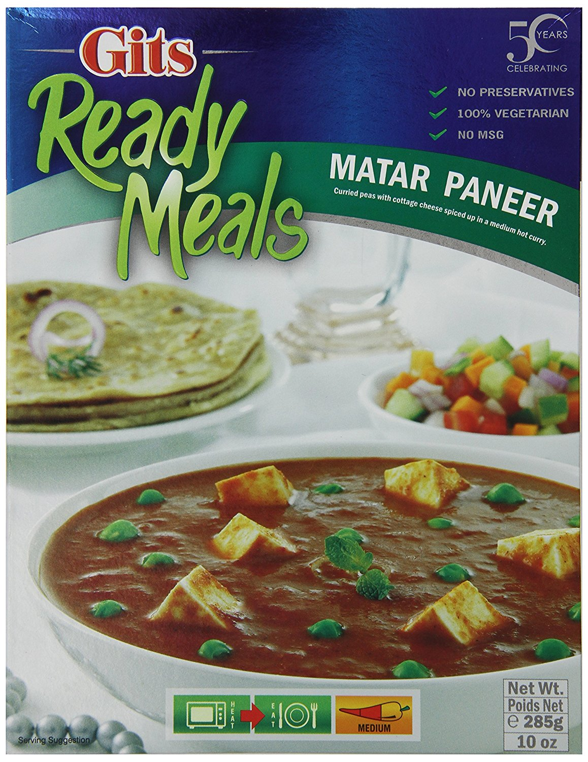 Buy Gits Ready to Eat Matar Paneer Online MY