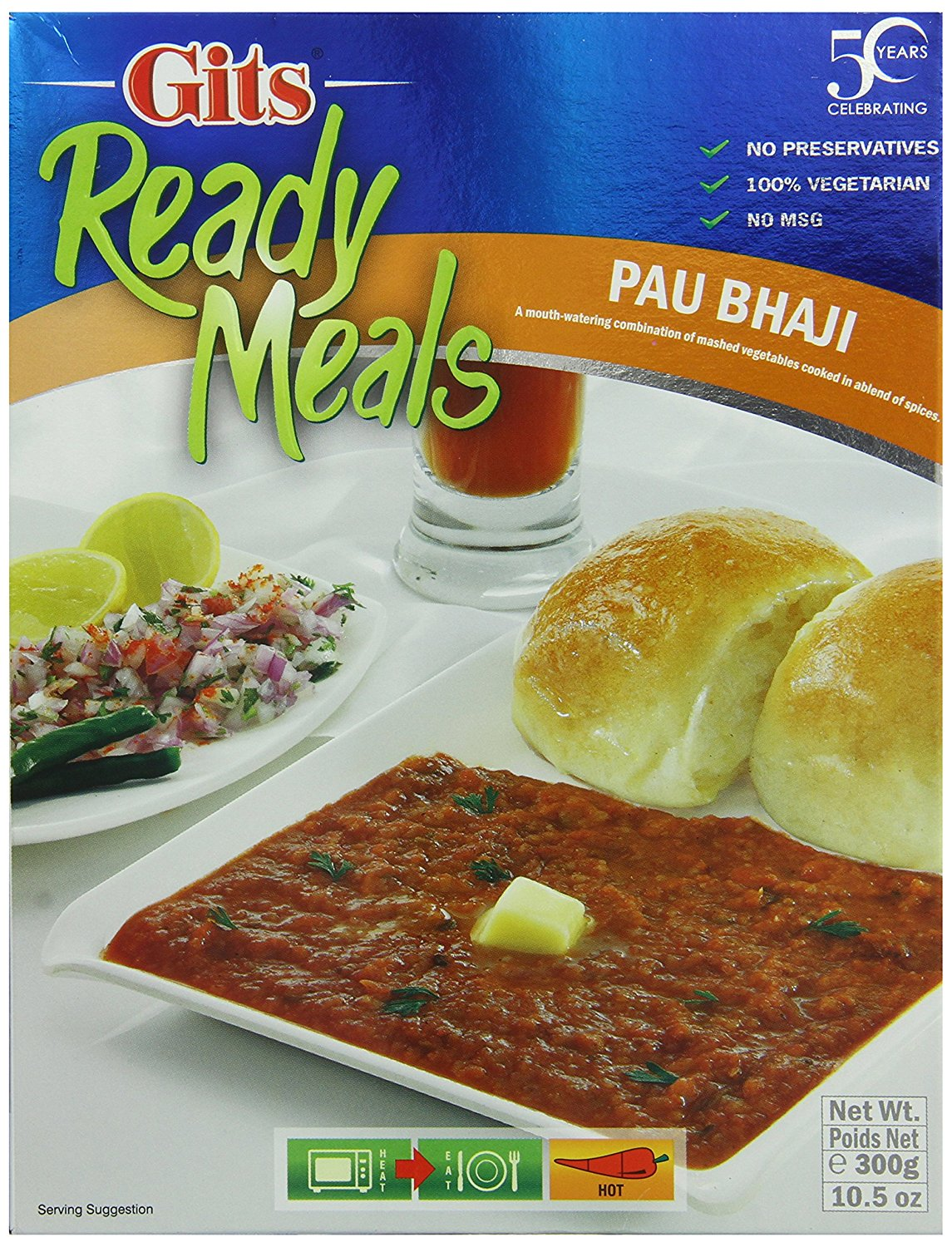 Buy Gits Ready to Eat Pav Bhaji Online FR