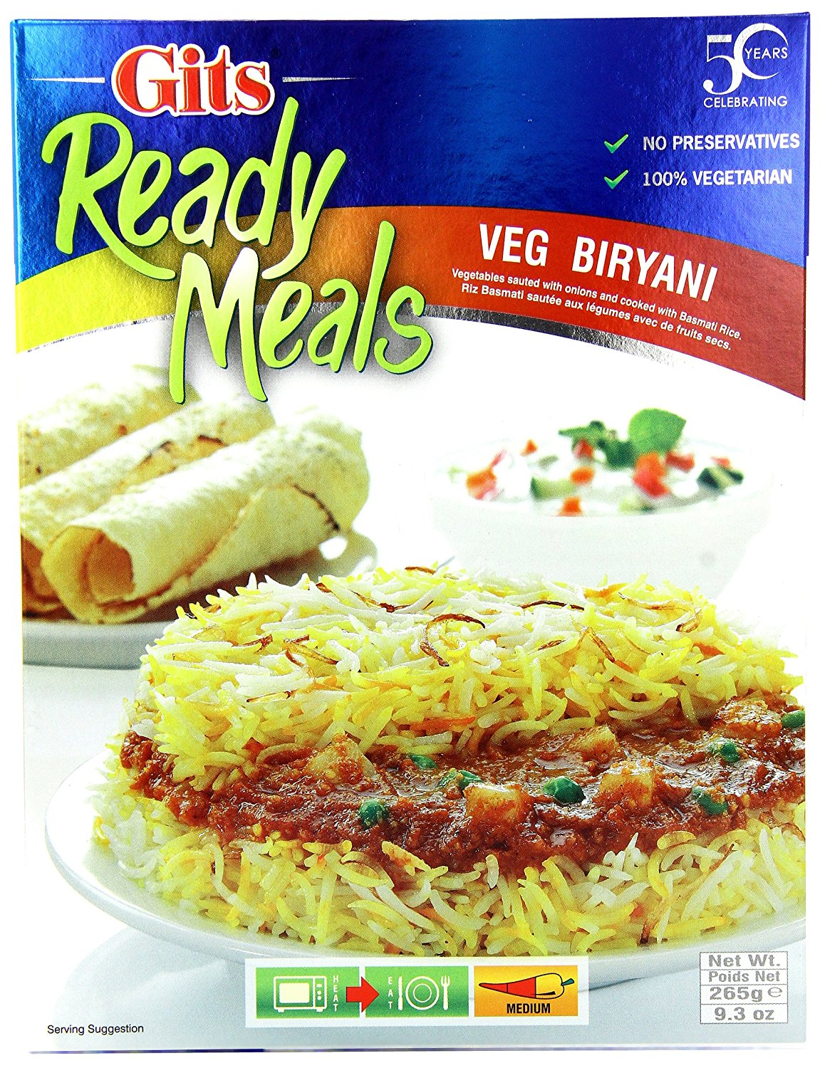 Buy Gits Ready to Eat Veg Biryani Online MY