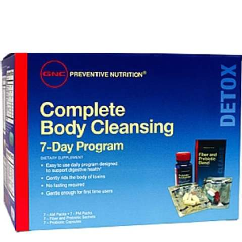 Buy GNC Complete Body Cleanser Vitapack Online MY