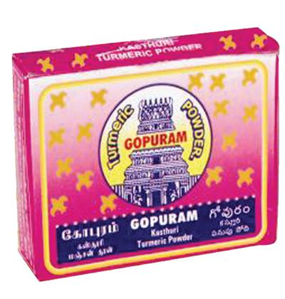 Buy Gopuram Kasthuri Manjal (Turmeric) Powder Online MY