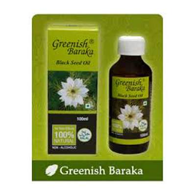 Buy Greenish Baraka Black Seed Oil online United States of America [ USA ]