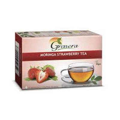 Buy Grenera Moringa Strawberry Tea Online MY
