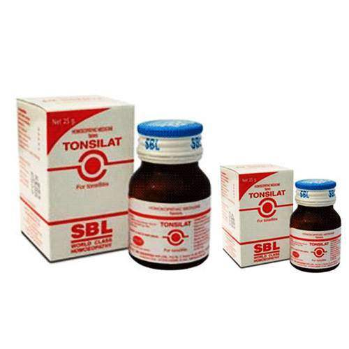 Buy SBL Homeopathy Tonsilat Tablets online United States of America [ USA ]