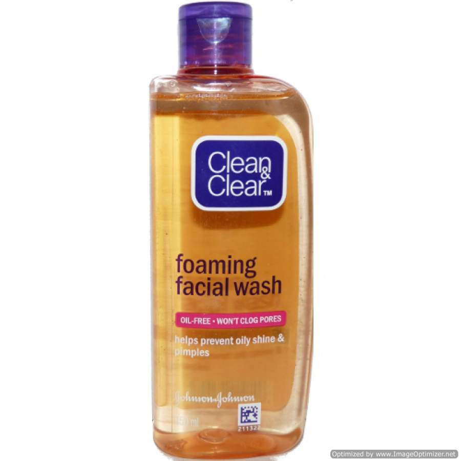 Johnson and johnson foaming facial cleanser
