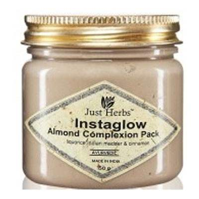 Buy Just Herbs Instaglow Almond Complexion Pack Online MY