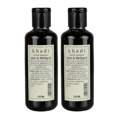 Buy Khadi Herbal Amla & Bhringraj Shampoo online United States of America [ USA ]