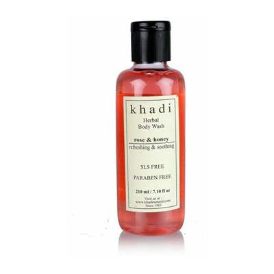 Buy Khadi Herbal Rose & Honey Body Wash ( SLS  & Paraben Free ) Online MY