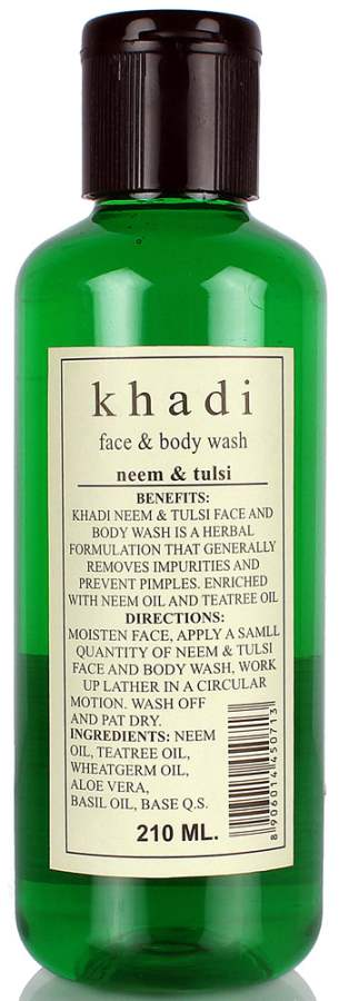 Buy Khadi Natural Neem & Tulsi Face & Body Wash Online MY