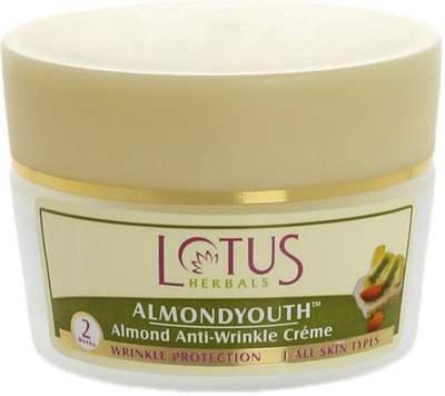 Buy Lotus Herbals Almond Anti Wrinkle Cream online United States of America [ USA ]