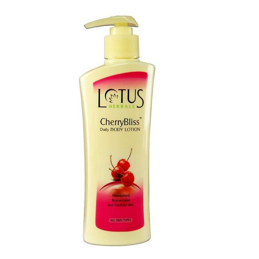 Buy Lotus Herbals CherryBliss Daily Body Lotion online United States of America [ USA ]
