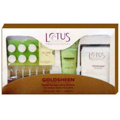 Buy Lotus Herbals - Gold Sheen Kit online United States of America [ USA ]