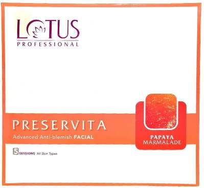 Buy Lotus Professional Preservita Advanced Anti-Blemish Facial Papaya Marmalade online United States of America [ USA ]