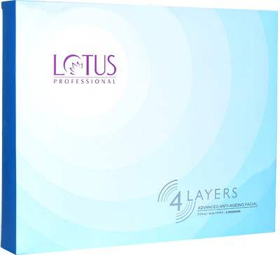 Buy Lotus Herbals Professional 4 Layers Advanced Anti- Ageing Facial Kit online United States of America [ USA ]