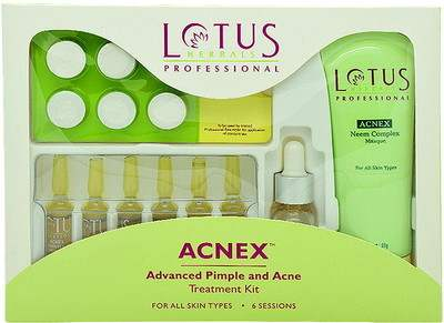 Buy Lotus Herbals Professional Acnex Advanced Pimple & Acne Treatment Kit online United States of America [ USA ]