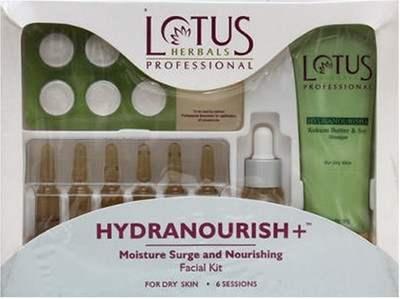 Buy Lotus Herbals Professional Hydanourish+ Moisture Surge & Nourishing Facial Kit online United States of America [ USA ]