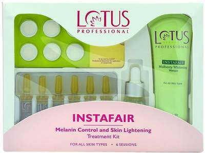 Buy Lotus Herbals Instafair Professional Facial Kit online United States of America [ USA ]