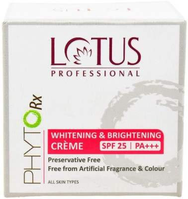 Buy Lotus Herbals Professional Phyto Rx Whitening and Brightening Creme online United States of America [ USA ]