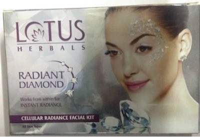 Buy Lotus Herbals Radiant Diamond Facial kit online United States of America [ USA ]