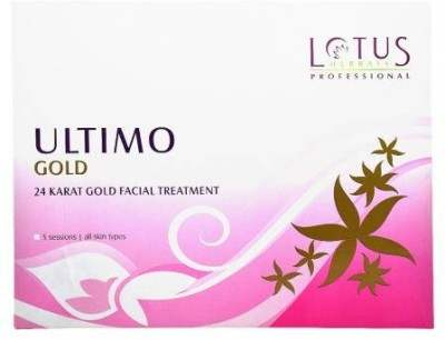 Buy Lotus Herbals Ultimo Gold 24 Karat Gold Facial Treatment online United States of America [ USA ]