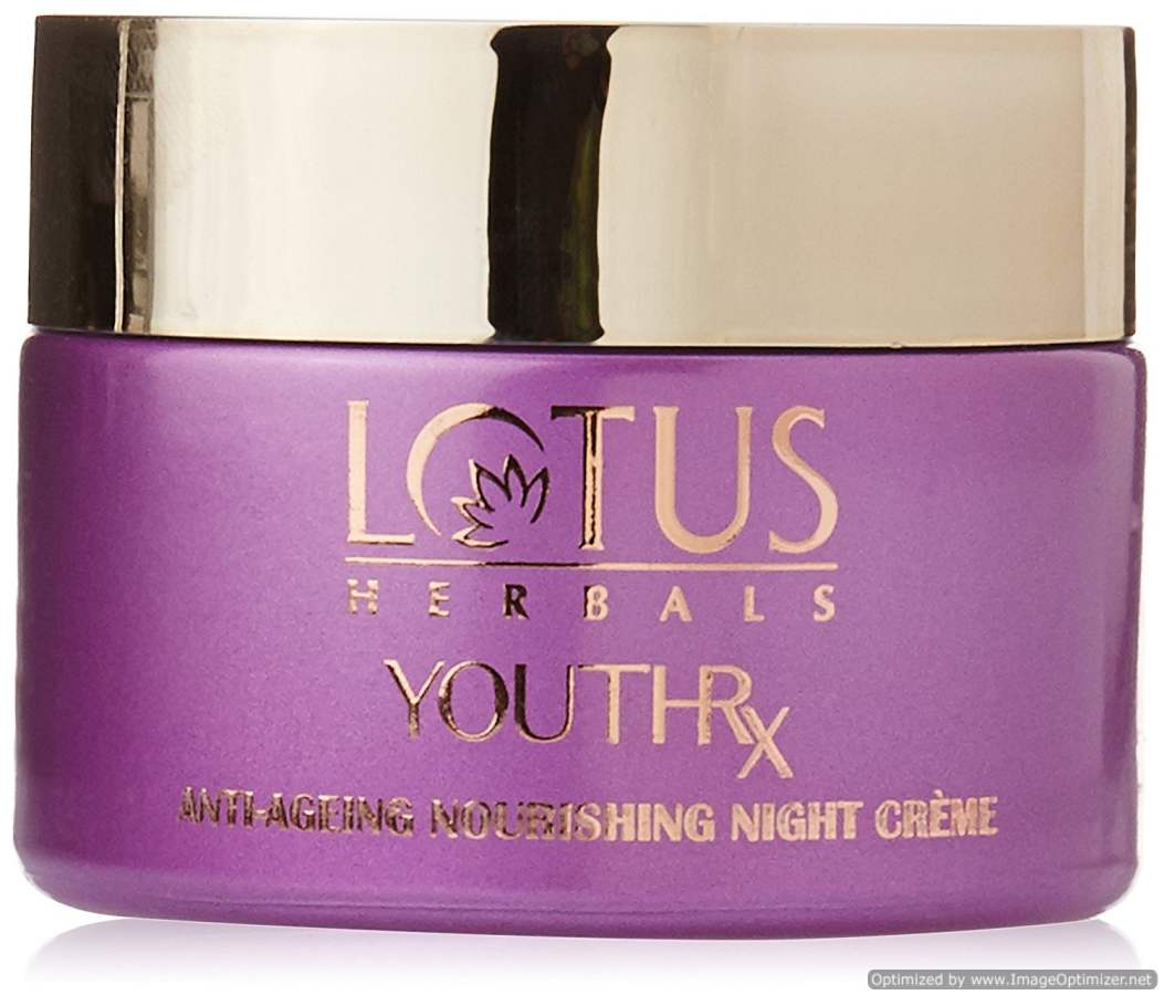 Buy Lotus Herbals Youthrx Anti Ageing Nourishing Night Creame online United States of America [ USA ]