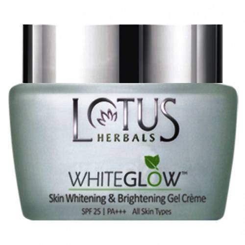 Buy Lotus Whiteglow Skin Whitening and Brightening Gel Creme SPF 25 Online MY