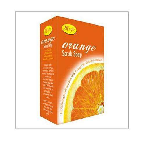 Buy Natures Essence Orange Scrub Soap Online MY