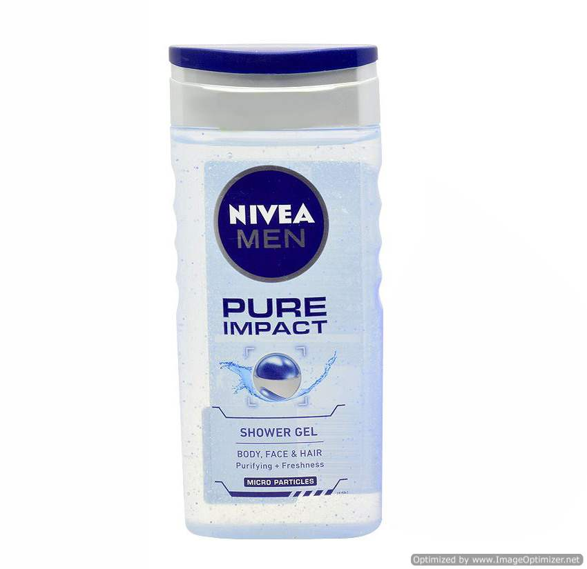 Buy Nivea Pure Impact Shower Gel for Men Online MY
