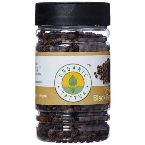 Buy Organic Tattva Black Pepper Whole Online MY