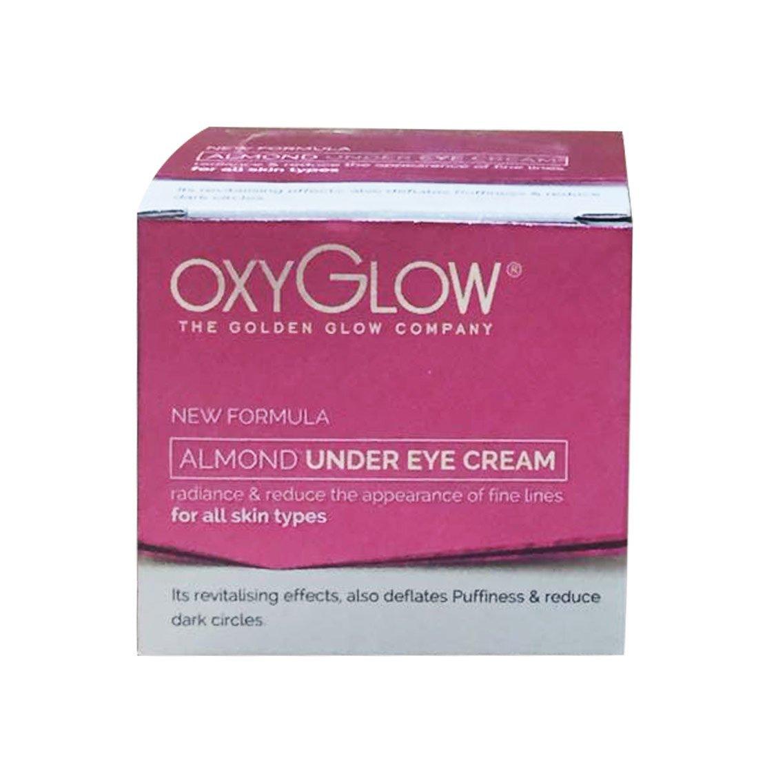 Buy Oxy Glow Almond Under Eye Repair Cream Online MY
