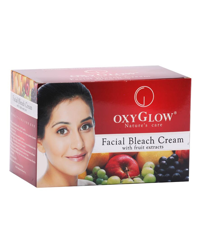 Buy Oxy Glow Facial Bleach Cream With Fruit Extracts Online MY