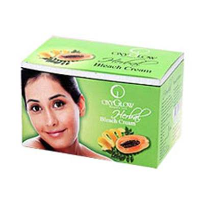 Buy Oxy Glow Herbal Bleach Cream Online MY