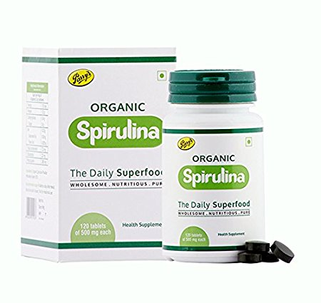 Buy Parry's Spirulina Capsules - Natural Food Supplement Online MY