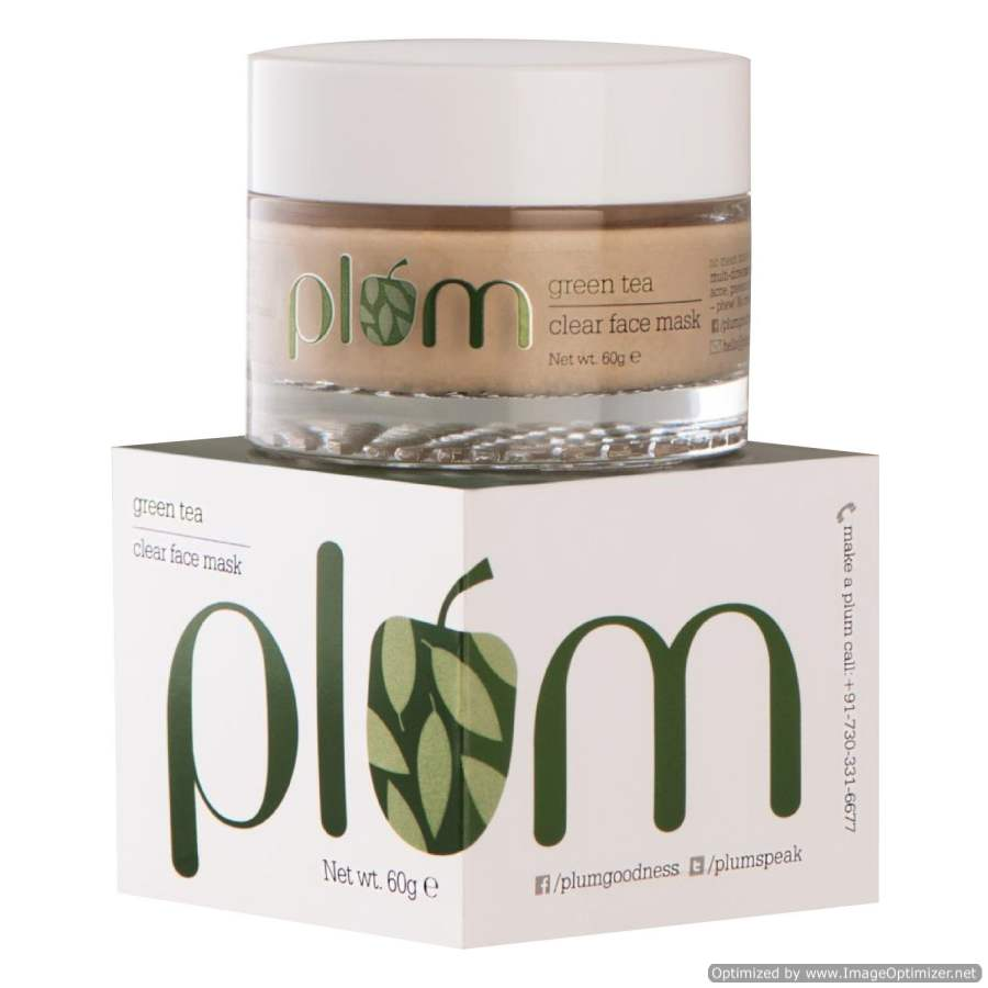 Buy Plum Green Tea Clear Face Mask Online MY