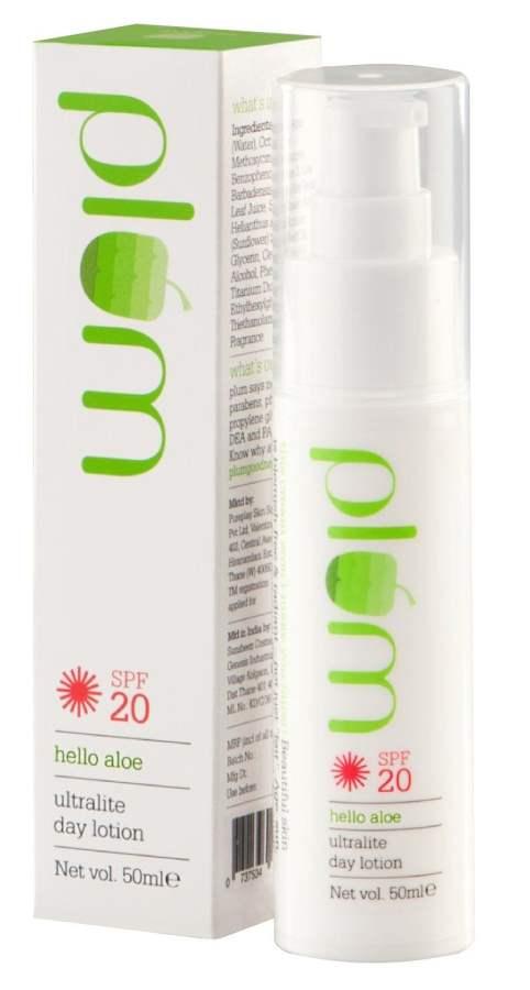 Buy Plum Hello Aloe Ultra Lite Day Lotion SPF20 Online FR