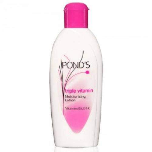 Buy Ponds Triple Vitamin Mositurising Body Lotion Online USA