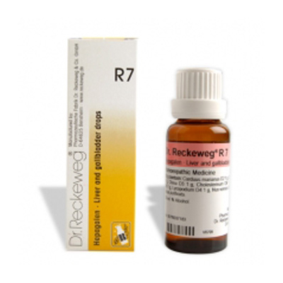Buy Dr.Reckeweg Homeopathy R7 Liver & Gallbladder Drops Online MY