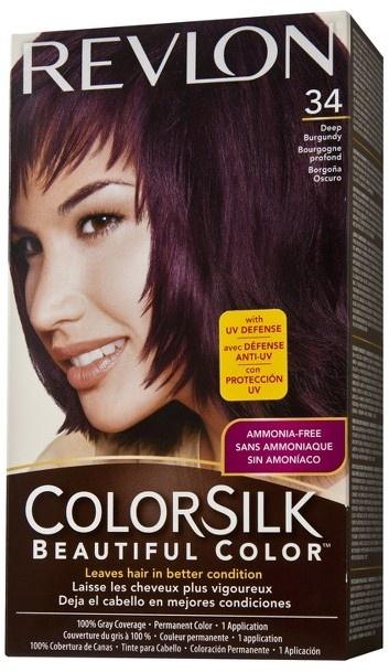 Revlon Colorsilk Deep Burgundy B Online Singapore Sg Gives A Permanent Hair Color