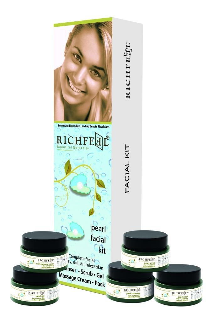 Buy Richfeel Pearl Facial Kit Online MY