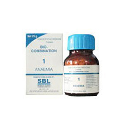 Buy SBL Homeopathy Bio Combination Salts Anaemia 1 online United States of America [ USA ]