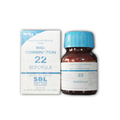 Buy SBL Bio Combinations Salts Scrofula 22 online United States of America [ USA ]