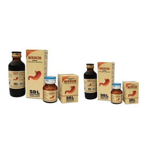 Buy SBL Homeopathy Nixocid Tablets for Acidity Heartburn & Flatulence online United States of America [ USA ]
